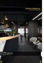 capability statement - Ellivo Architects