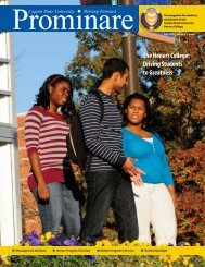 The Honors College - Coppin State University Homepage