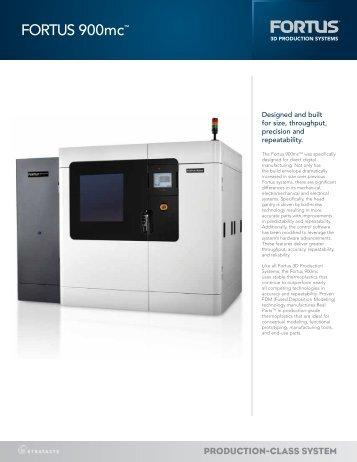 FORTUS 900mc™ - Laser Lines Ltd.