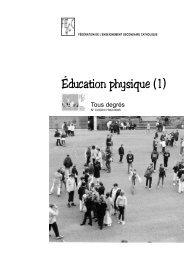 Éducation physique (1) - Accueil fédération