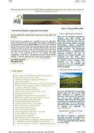 Seite 1 von 5 IFAJ 29.07.2008 http://www.ifaj.org/newsletter ...