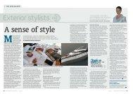 Exterior stylists - Frances & Michael Howorth