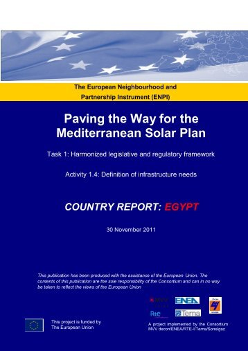 Paving the Way for the Mediterranean Solar Plan - EU ...