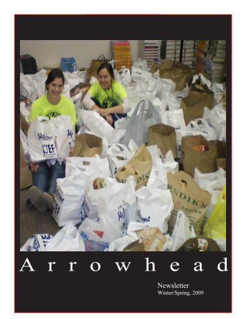 Spring 2009 Newsletter - Arrowhead High School