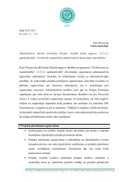 Elita Dreimane Valsts kanceleja Administratīvo šķēršļu novēršana ...
