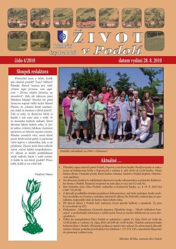 podolí 4-2010.indd - Obec Podolí