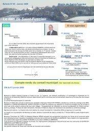 Lien n°9 - janvier 2009 - Saint-Fuscien