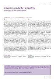Vínculos entre los corticoides y la esquizofrenia - FarmacoMedia