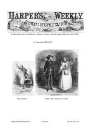 The illustrations for 'The Woman in White' in Harper's Weekly by ...