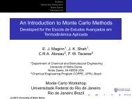 An Introduction to Monte Carlo Methods - peq / coppe / ufrj