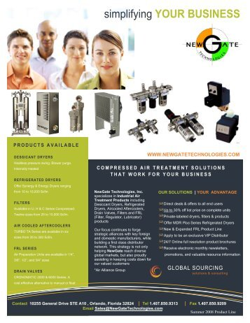 download product line card - New Gate Technologies