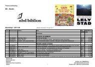 Bekijk de thema-aanbieding Steden - Boeken - M'zine - Biblion