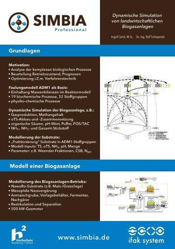 Flyer Simbia Technik web - Ifak System GmbH.