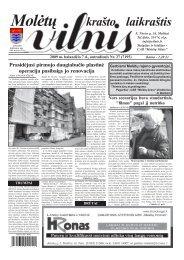 2009 m. balandžio 7 d., antradienis Nr. 27 - 2013 - VILNIS