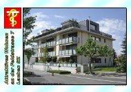 Grundrisse - Attraktives Wohnen an der Feldstrasse 7 in Lachen