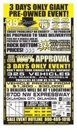 Sonic Oklahoma 5/09:Public Notice Sale 2 color