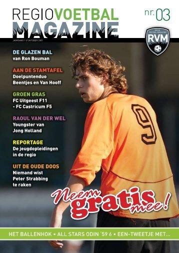 Het ballenHok • all stars oDIn - Regio Voetbal Magazine