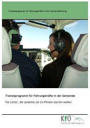 Traineeprogramm für Führungskräfte in der Gemeinde Für Leiter ...