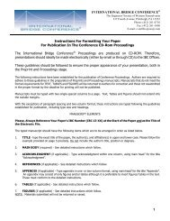 Paper Formatting Guidelines - ESWP