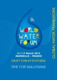 Global Water Framework - 6th World Water Forum
