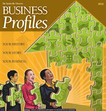 Download 2012 Business Profiles as a PDF - Fayetteville Observer