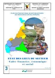 Cadre financier, Economique et social - Global Water Partnership