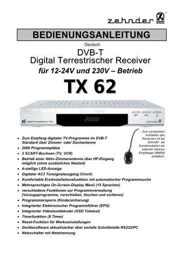 Download Bedienungsanleitung (2,7 MB) - Zehnder