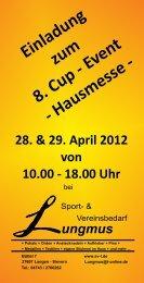 Hausmesse - 28. & 29. April 2012 von 10.00
