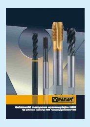 Gwintowniki maszynowe wysokowydajne HSSE - Heudra Tools B.V.