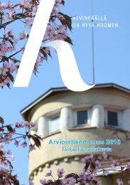 Arviointikertomus 2010 - Hyvinkaan kaupunki