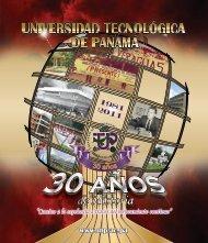 Suplemento de Aniversario - Universidad Tecnológica de Panamá