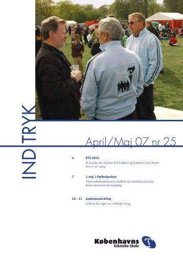 April/Maj 07 nr 25 - Københavns Tekniske Skole
