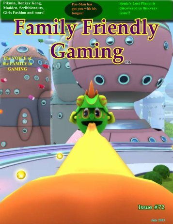 Issue #72 - Family Friendly Gaming