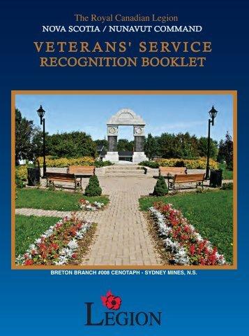 VSRB Vol 3 - Royal Canadian Legion