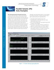 Parallel Seismic - Olson Instruments, Inc.
