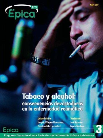 Tabaco y alcohol - Sociedad Española de Reumatología