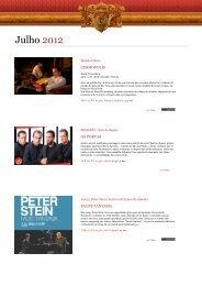 Agenda Digital Julho 2012 - Theatro Circo