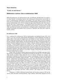 Bibliotekets rariteter från revolutionsåret 1848 (Världen i källaren)