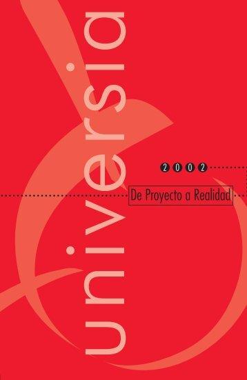 Universia Memoria 2001 - Encuentro Internacional de Rectores de ...