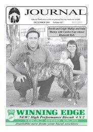 NEW! High Performance Biscuit 4 X 2 - Greyhounds Queensland