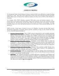 COMPANY PROFILE - ITOPF
