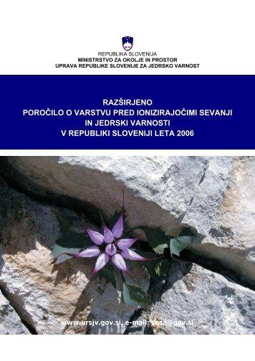 razširjeno - Uprava Republike Slovenije za jedrsko varnost