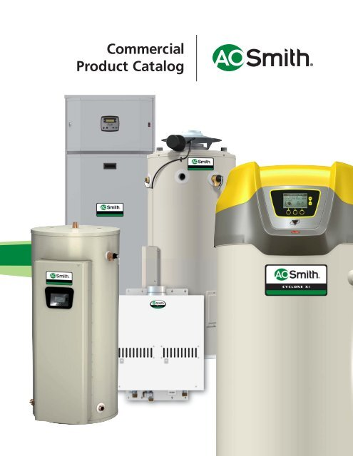 Commercial Product Catalog A O Smith Water Heaters