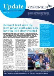 Winter 2010 Newsletter - Kenward Trust