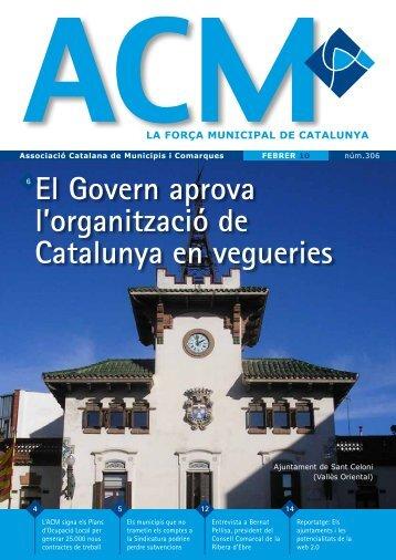 Núm. 306 - Febrer 2010 - Associació Catalana de Municipis