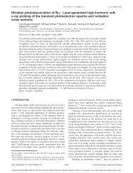 Ultrafast photodissociation of Br2 : Laser-generated high-harmonic ...