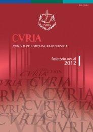 Relatório anual 2012 - Universidade Católica Portuguesa