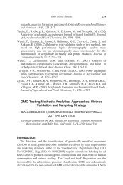 GMO Testing Methods: Analytical Approaches, Method ... - sipeaa