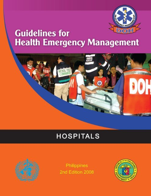 Books and Manuals - Health Emergency Management Staff - DOH