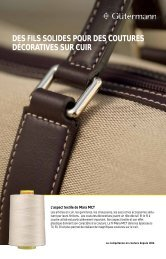 Seam competence Leather_FR.pdf - Gütermann